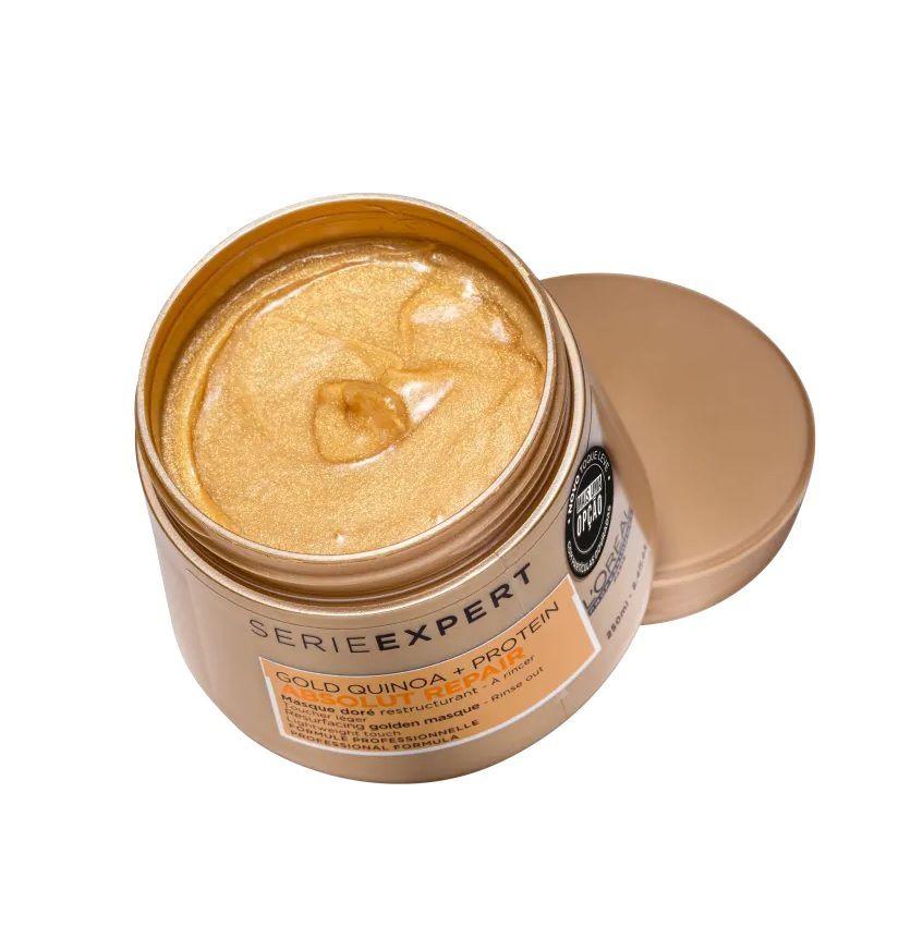 Mascara Capilar Loréal Gold Quinoa + Protein Golden Lightweight 250g
