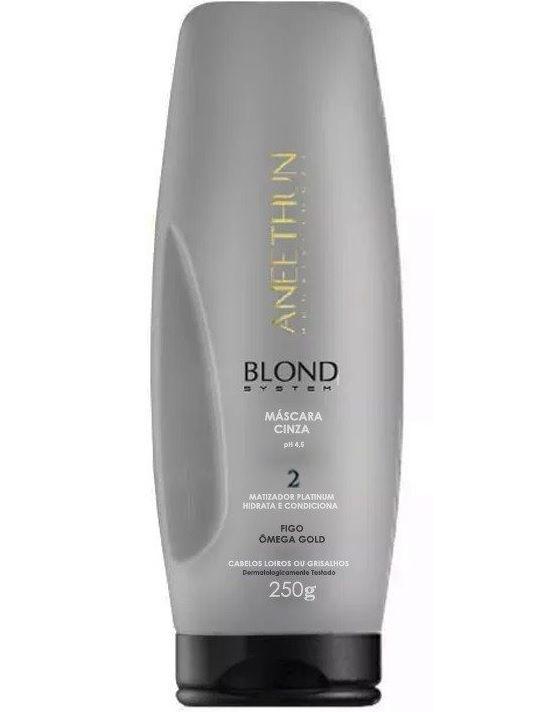 Máscara Cinza Blond System Aneethun 250g