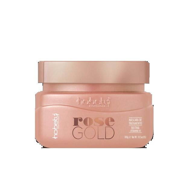 Máscara de Tratamento Hobety Rose Gold 300g