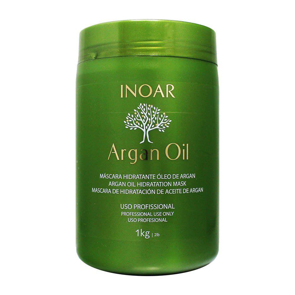 Máscara Hidratante Óleo de Argan Oil 1kg - Inoar