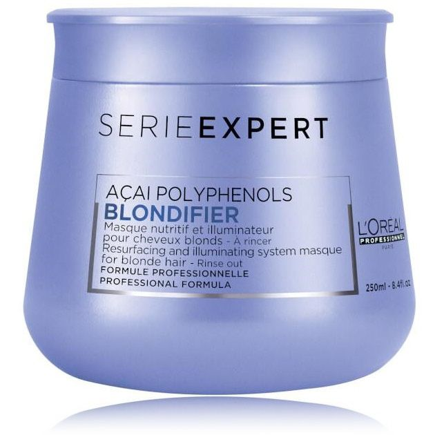 Máscara Loreal Blondfier Açai PolyPhenols 250ml