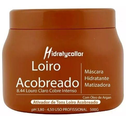 Mascara Matizadora Loiro Acobreado Mairibel HidratyCollor 500g