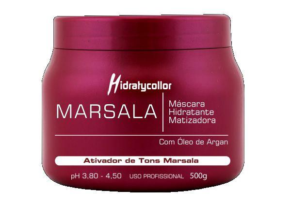 Mascara Matizadora Marsala Mairibel HidratyCollor 500g