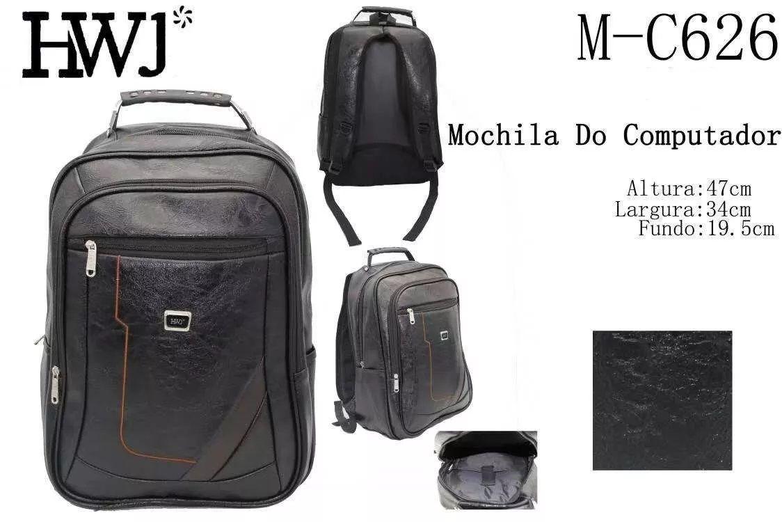 Mochila Cabo Aço Unissex Impermeável Viagem Empresa Academia