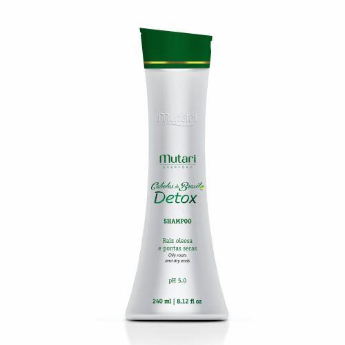 Mutari Shampoo Detox Raiz Oleosa e Pontas Secas 240ml