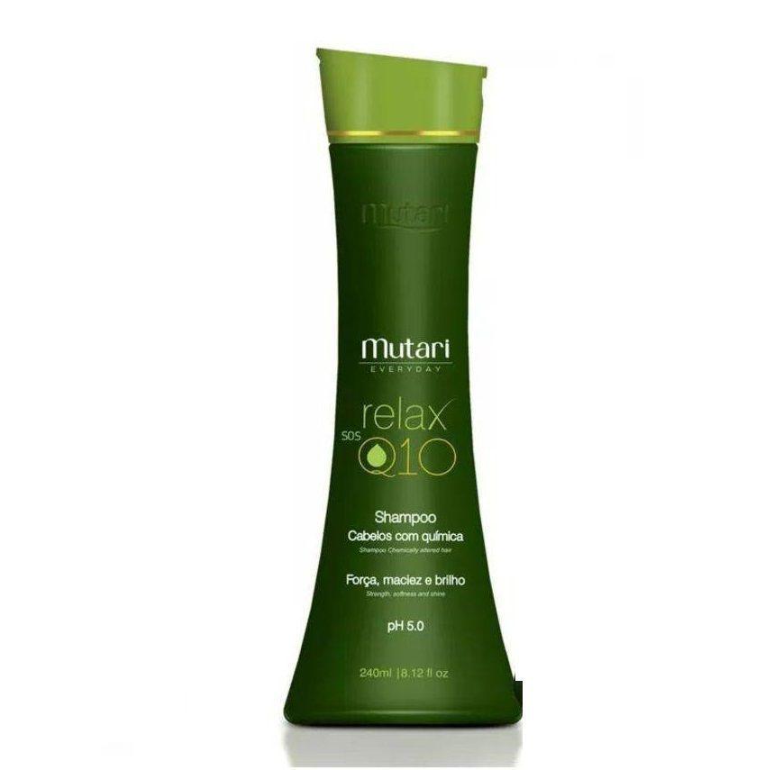 Mutari Shampoo Everyday Relax 240ml Cabelos com Química