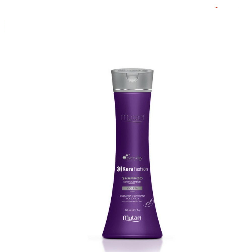 Mutari Shampoo Violeta Kerafashion 240ml