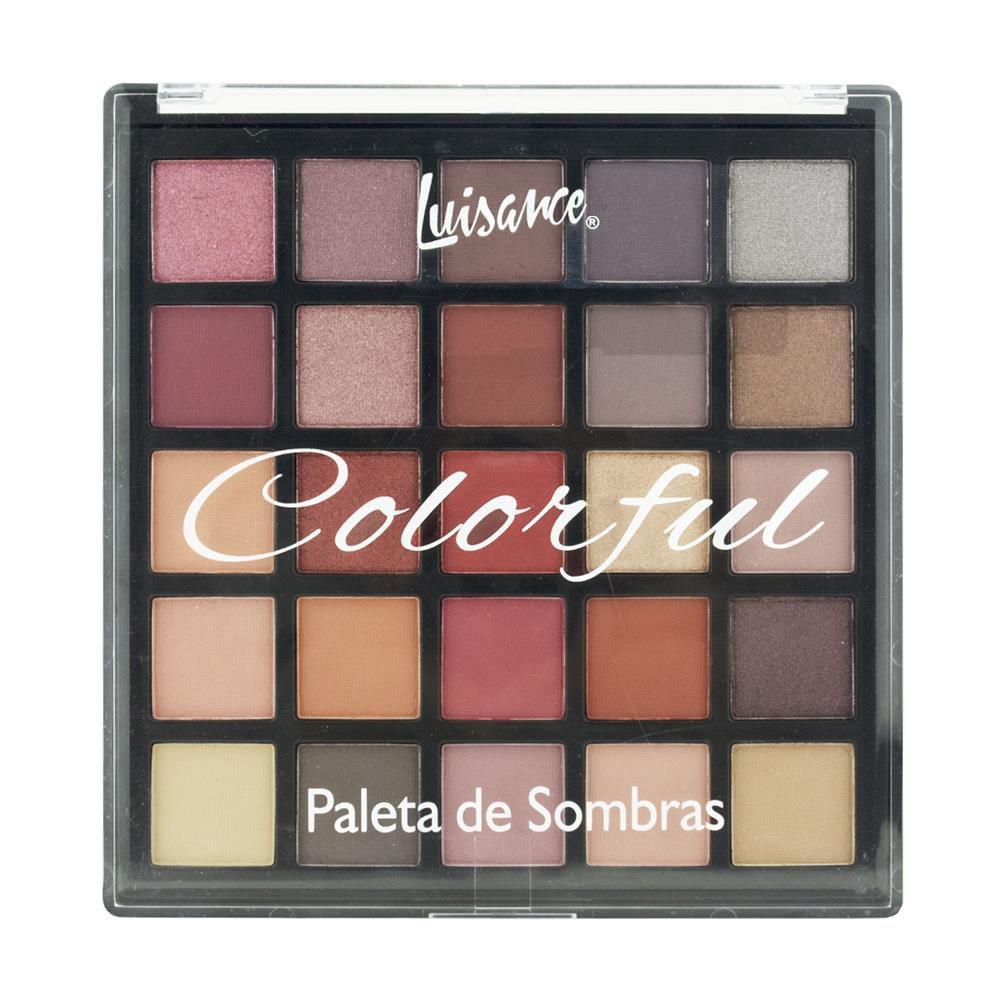 Paleta de Sombras Luisance Colorful 25 Cores