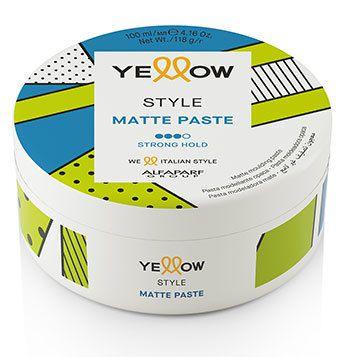 Pasta Modeladora Matte Yellow Style 100ml