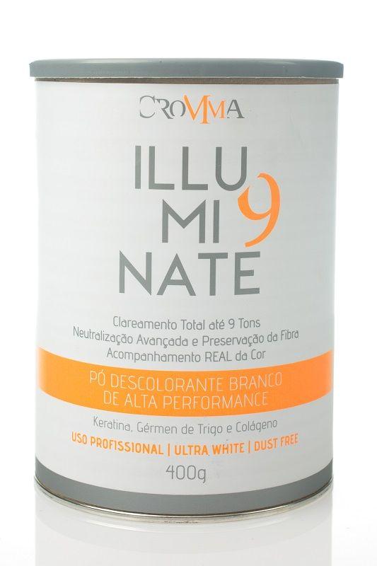 Cromma Pó Descolorante Branco Iluminate 400g 9 Tons Platinad
