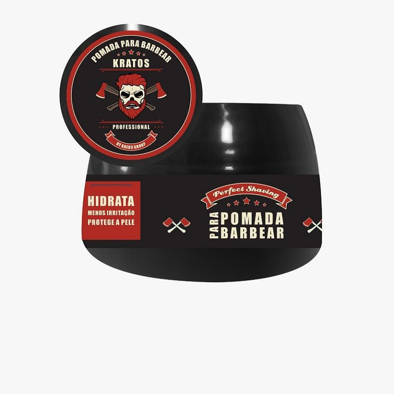 Pomada para Barbear Perfect Shaving Kratos Kaedon 55g