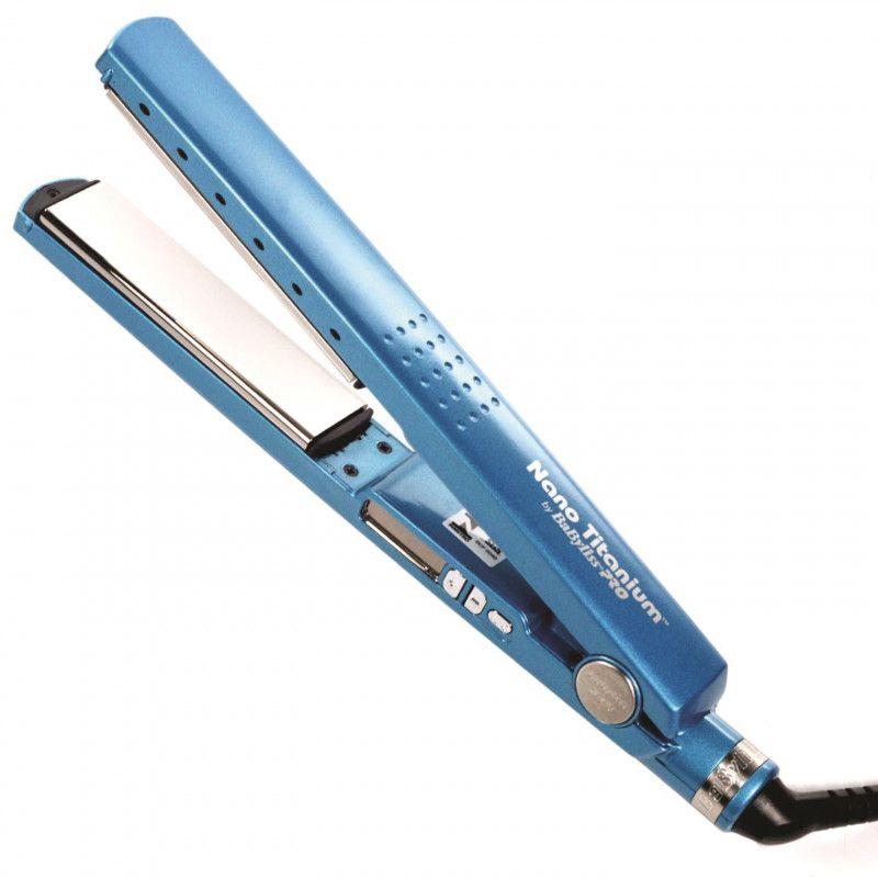 Prancha Chapinha Babiliss Pro Nano Titanium Azul