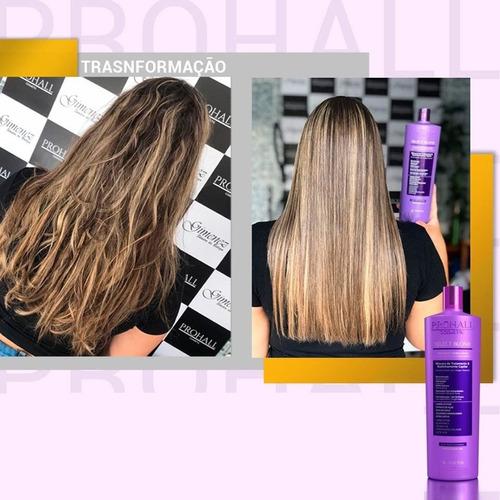 Realinhamento Térmico Capilar Prohall Select Blond 1000ml