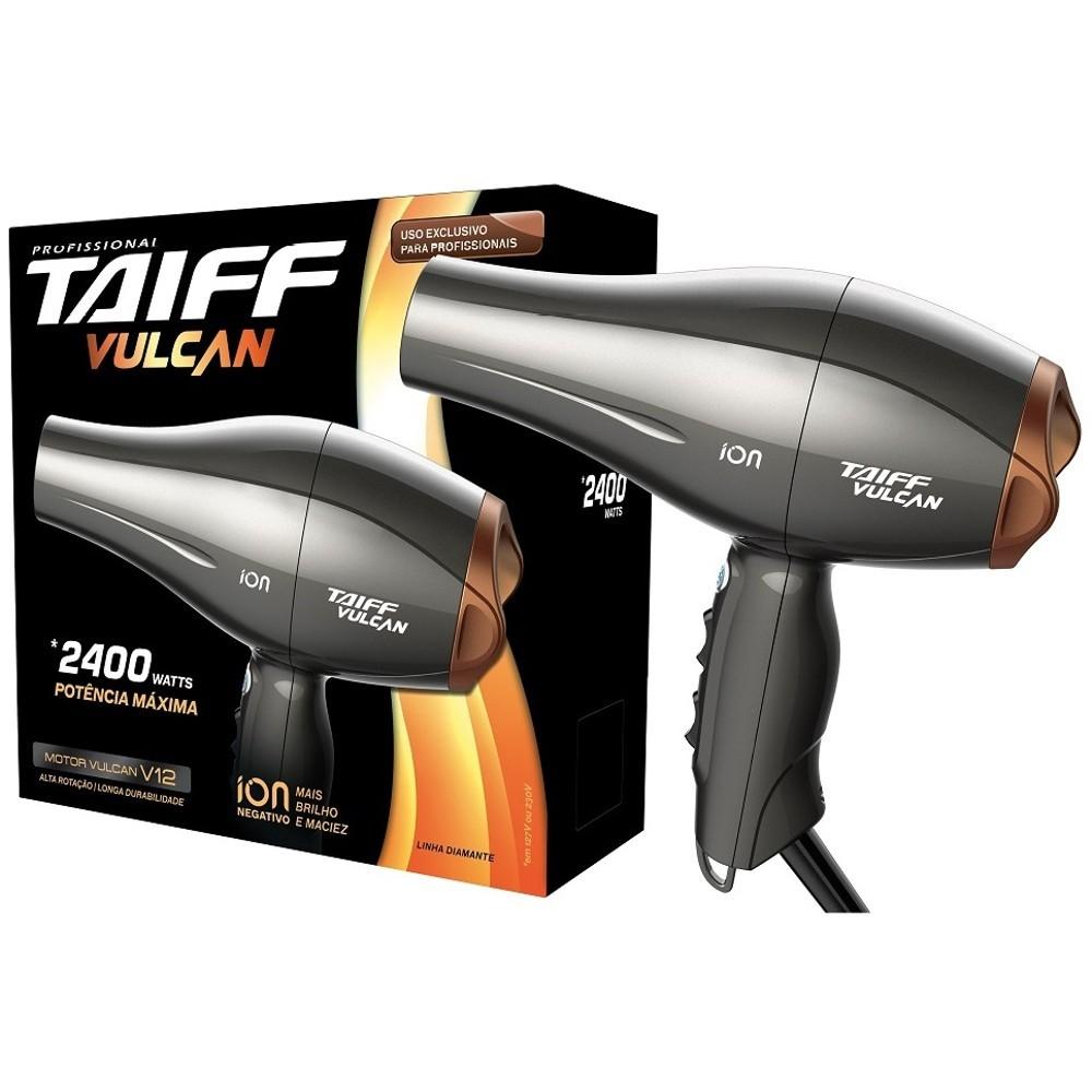 Secador de cabelos Taiff Vulcan 2400W 110V