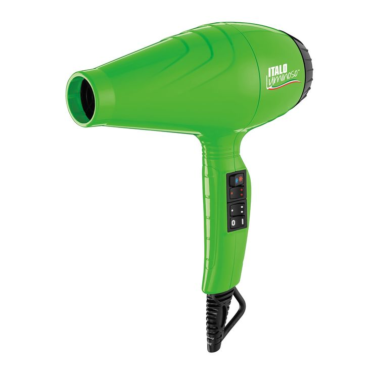 Secador Verde BabyLiss Pro Italo Colors 2000W 220V