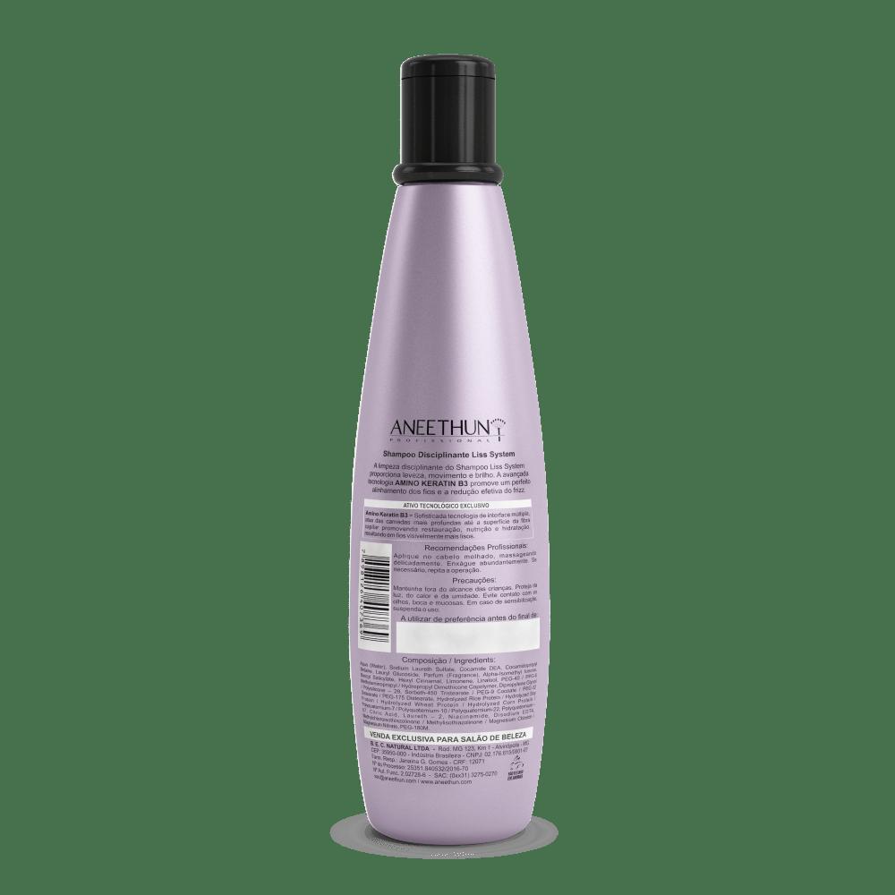 Shampoo Disciplinante Aneethun Liss System 300ml