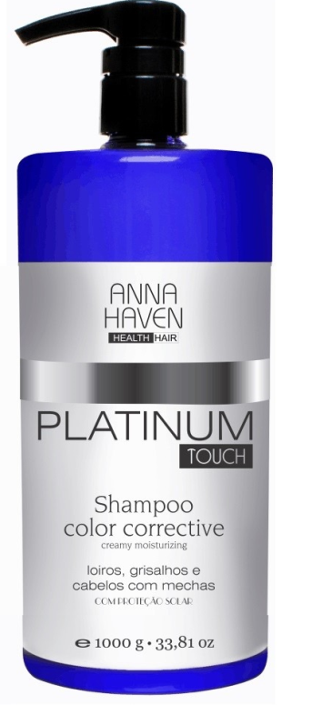 Shampoo Anna Haven Platinum Touch 1000ml