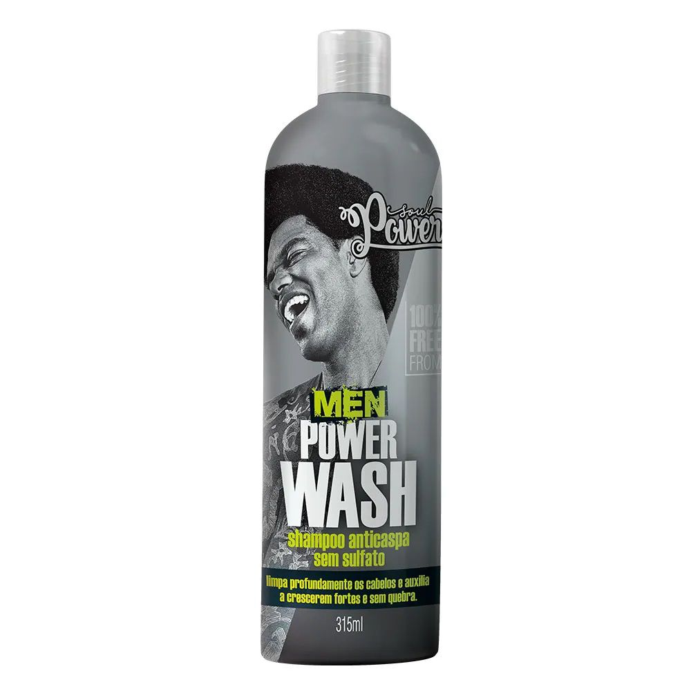 Shampoo Anticaspa Soul Power Men Power Wash 315ml