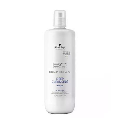 Shampoo BC Bonacure Scalp Deep Cleansing Schwarzkopf 1000ml