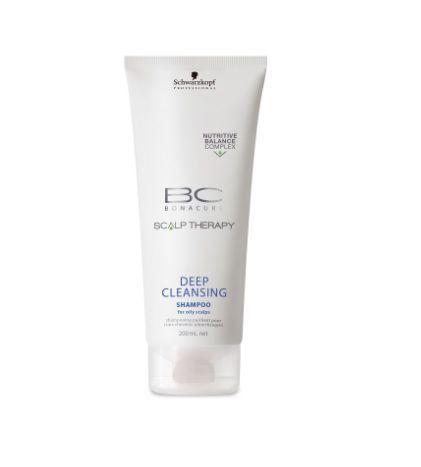Shampoo BC Bonacure Scalp Deep Cleansing Schwarzkopf 200ml