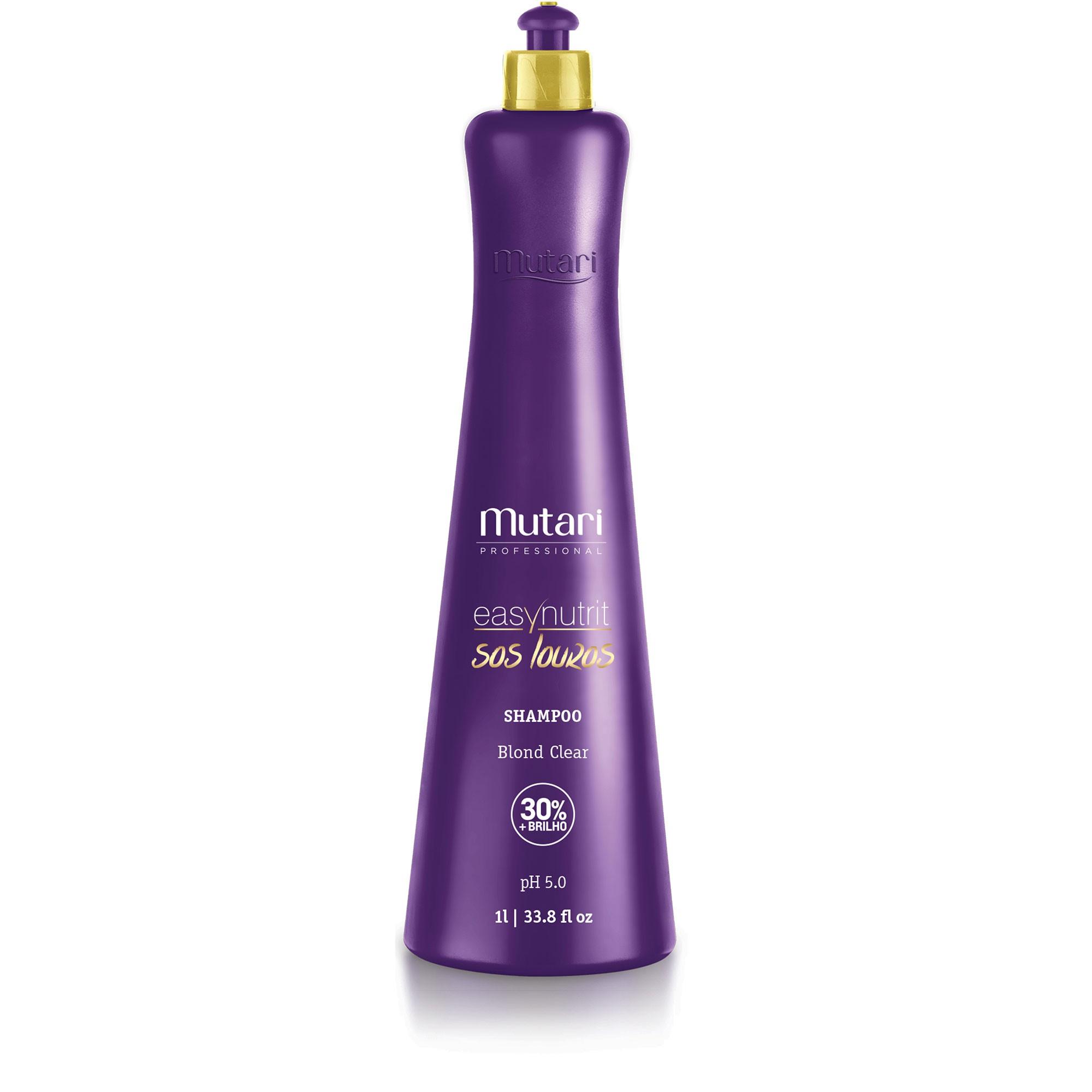 Shampoo Blond Clear - SOS Louros PROF 1L