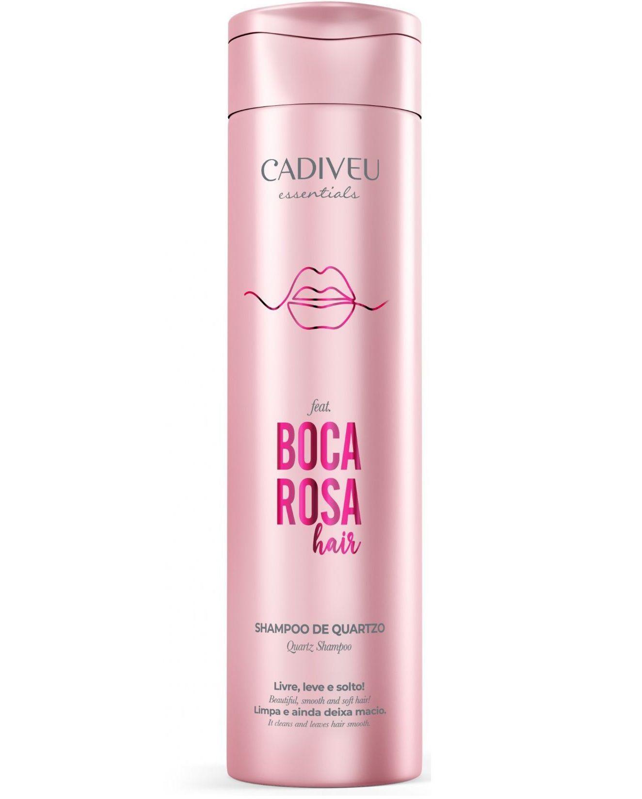 Shampoo Cadiveu Boca Rosa Quartzo 250ml