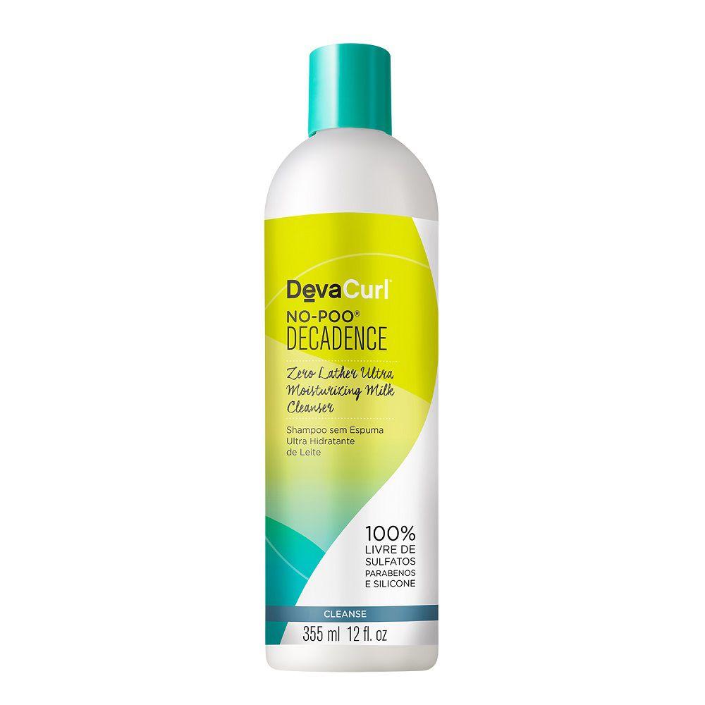 Shampoo Deva Curl No Poo Decadence Cabelos Crespos 355ml