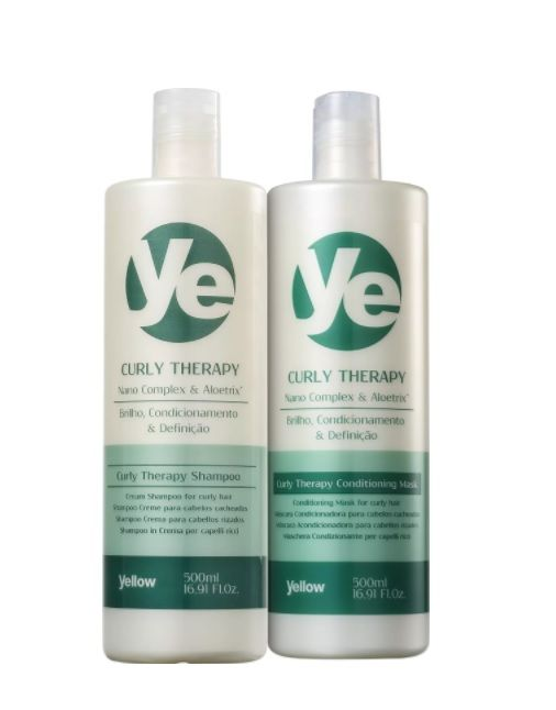 f6ab352e5 Shampoo e Condicionador Yellow Curly Therapy 2x500ml - Empório do  Cabeleireiro