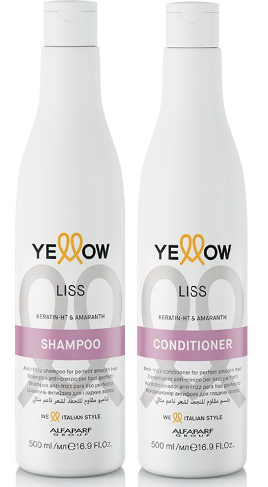 Shampoo e Condicionador Yellow Liss 2x500ml