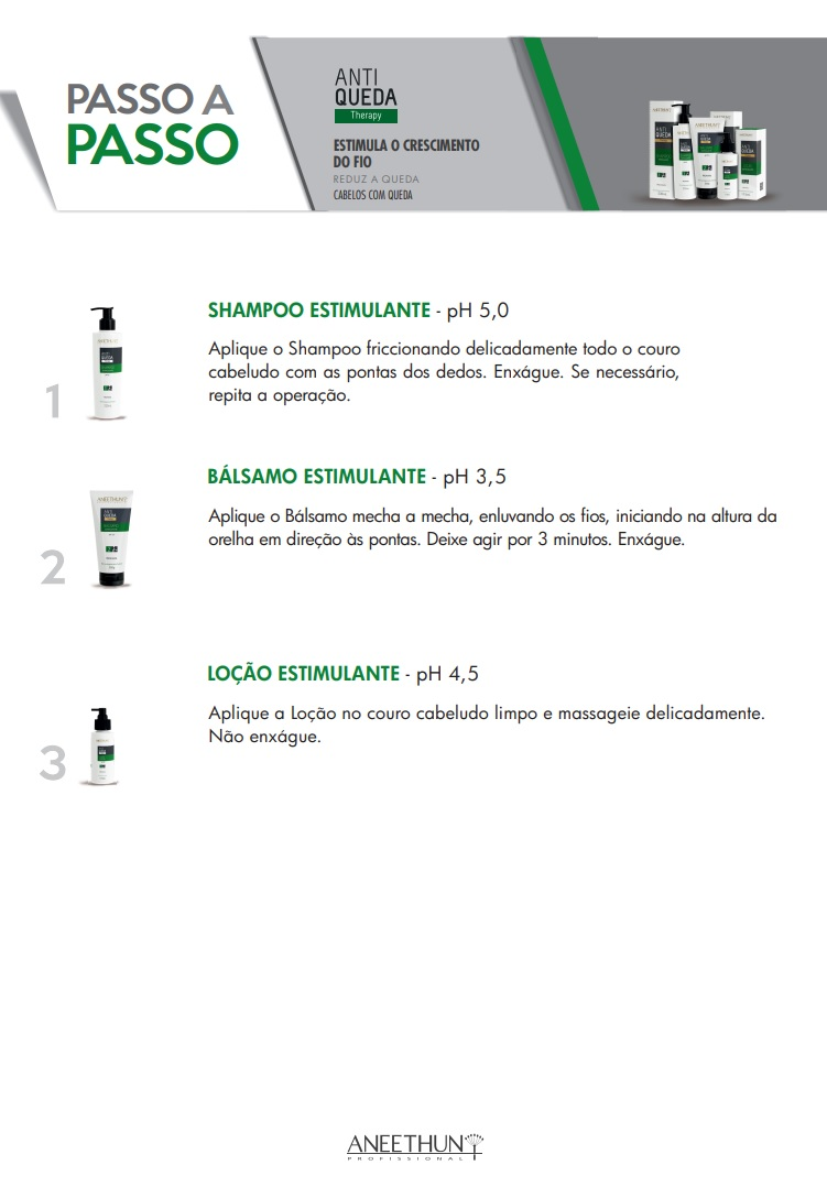 Shampoo Estimulante Aneethun Antiqueda Therapy 230ml