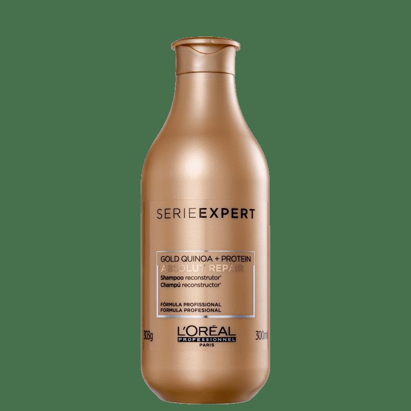 Shampoo Loreal Absolut Repair Gold Quinoa + Protein 300ml