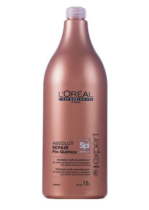 Shampoo Loreal Absolut Repair Pós-Quimica 1500ml