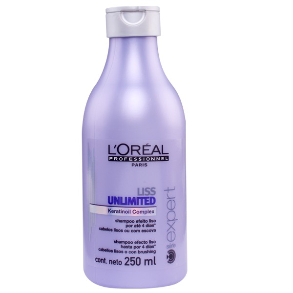 Shampoo Loreal Liss Unlimited 250ml