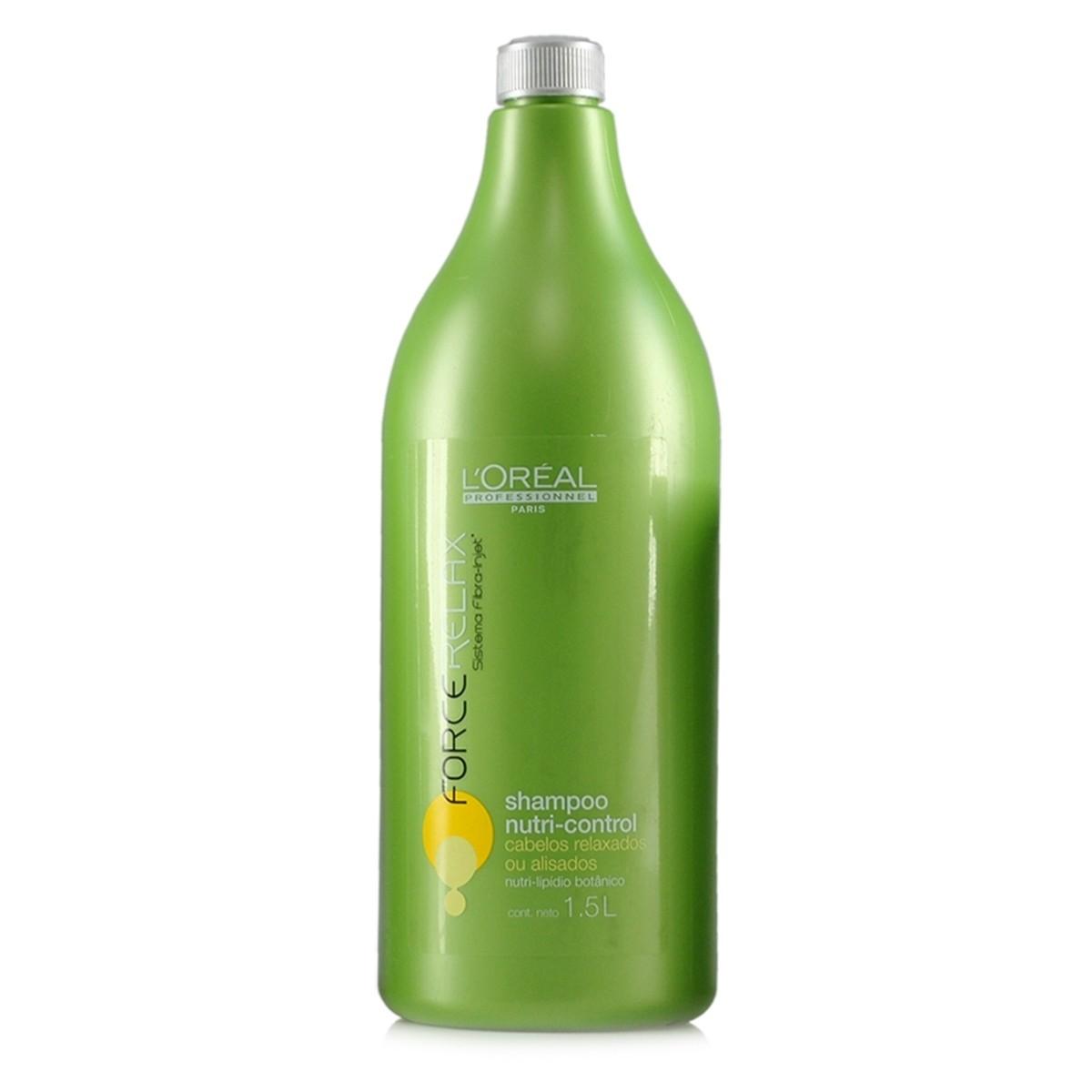 Shampoo Loreal Nutri-Control Force Relax 1500ml