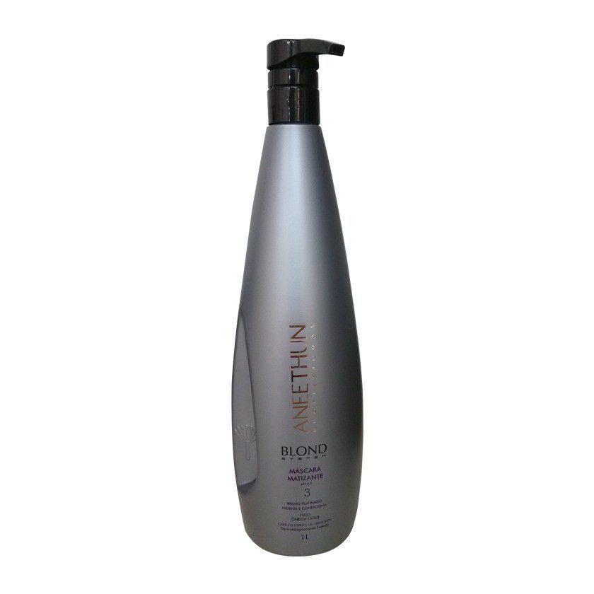 Shampoo Matizante Blond System Aneethun 1 Litro