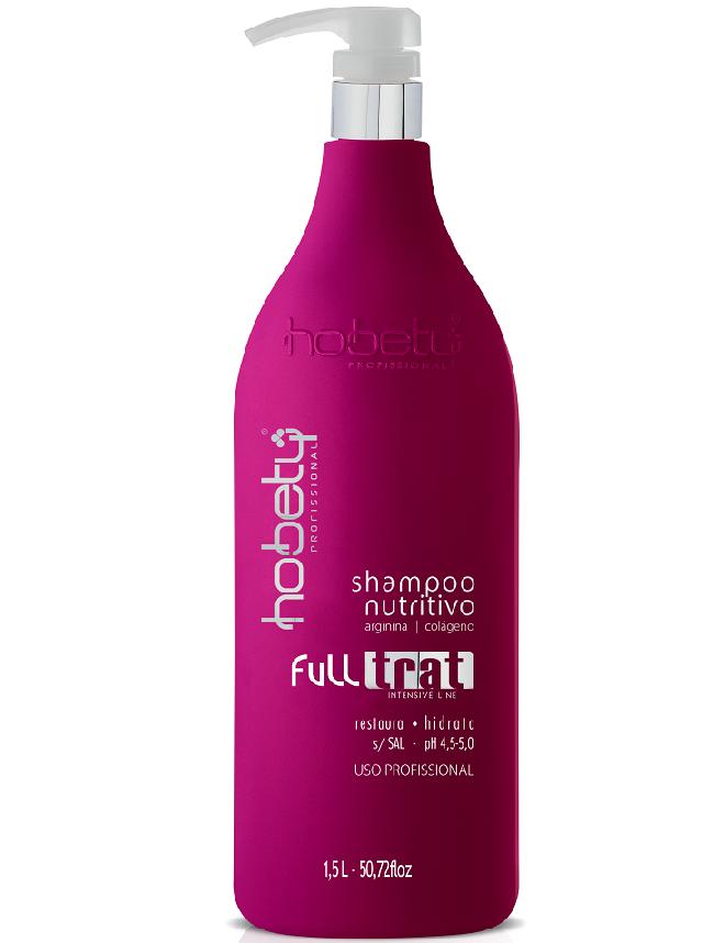 Shampoo Nutritivo Hobety Full Trat 1,5L
