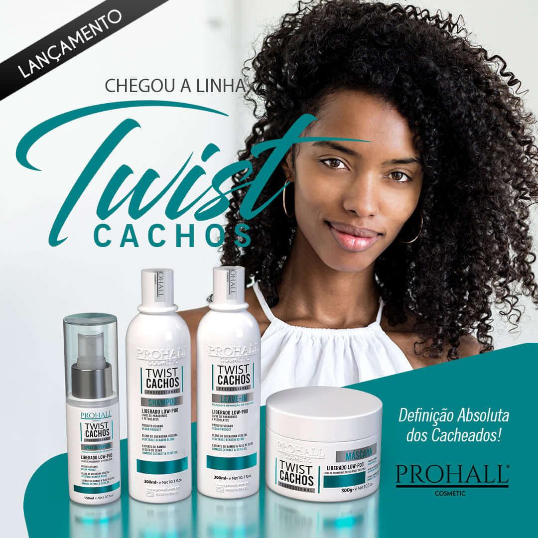Shampoo Prohall Twist Cachos 300ml