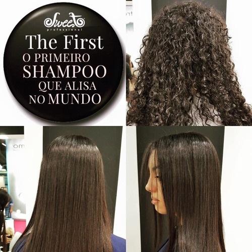 Shampoo Que Alisa The First Sweet Hair 500ml Alisante Capilar