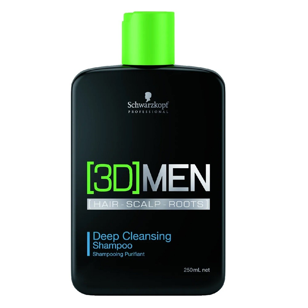 Shampoo Schwarzkopf 3D Men Deep Cleansing 250ml
