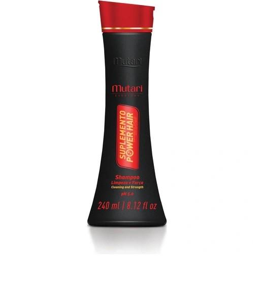Shampoo Suplemento Power Hair Mutari - 240ml