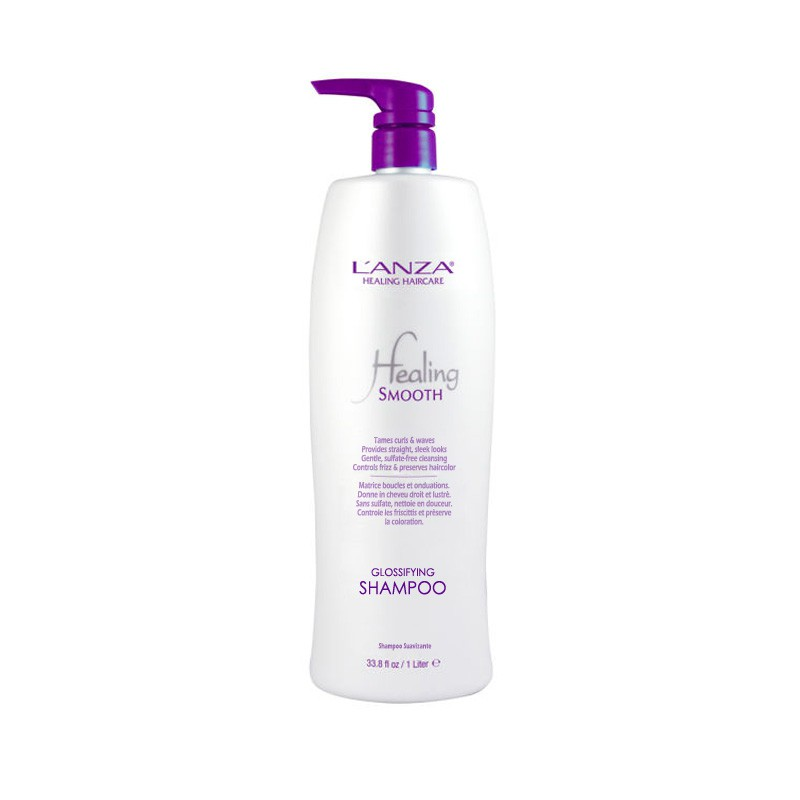 Lanza Smooth Glossifying Shampoo 1000ml