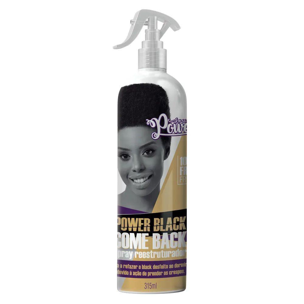 Spray Reestruturador Soul Power Black Come Back 315ml