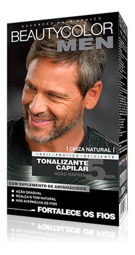 Tonalizante Beauty Color Men Cinza Natural