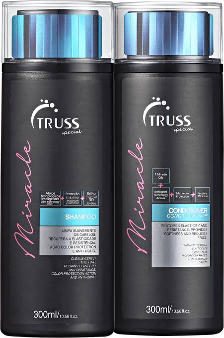 Truss Miracle Shampoo e Condicionador 2x300ml
