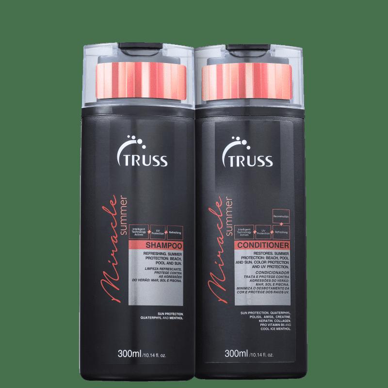 Truss Miracle Summer Shampoo e Condicionador 2x300ml