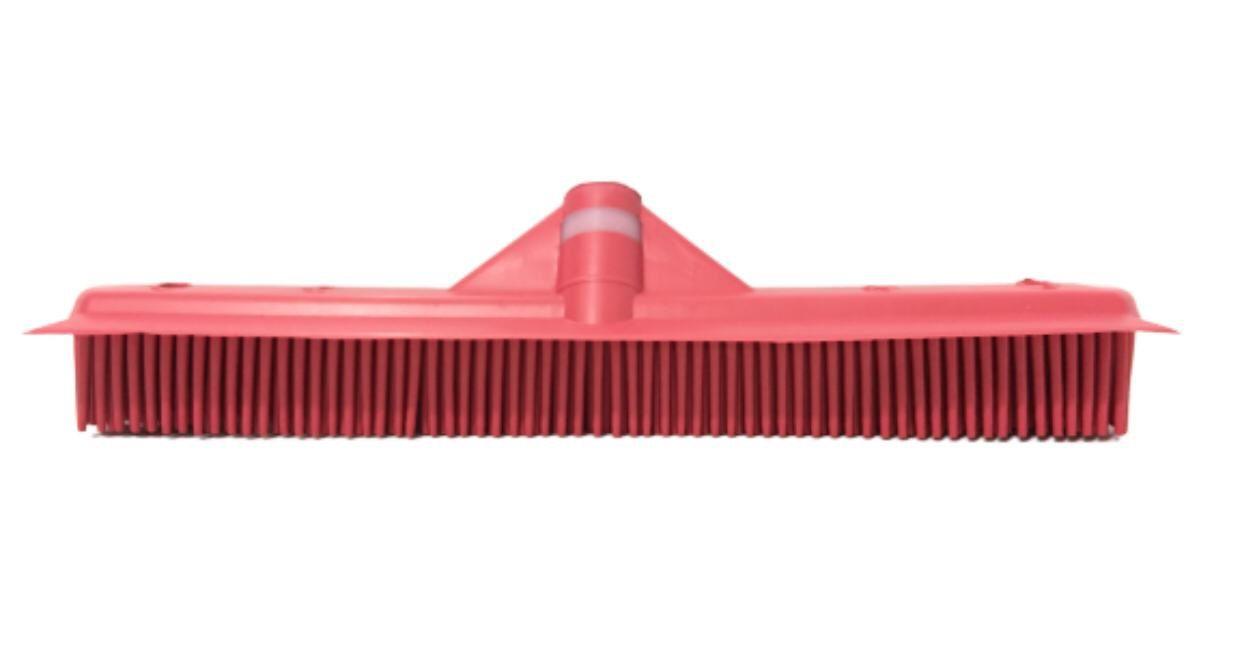 Vassoura Inteligente Vermelha p/ Barbearia e Salão de Beleza