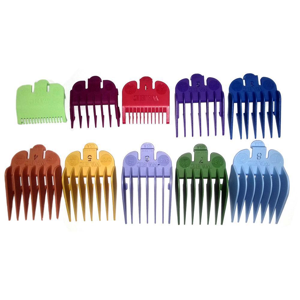 Wahl Kit Pente Guia Colorido Com 10 Unidades