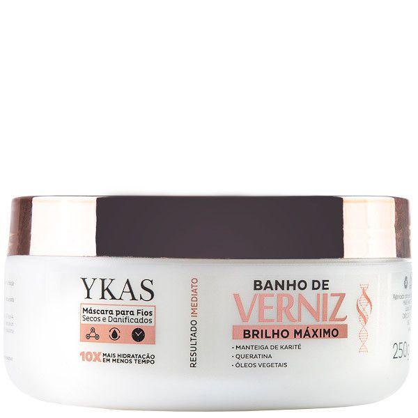 YKAS Banho De Verniz Máscara 250G
