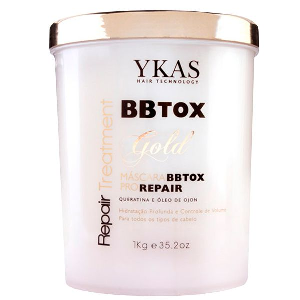 Ykas Btx Capilar Pro Repair Máscara Gold 1KG