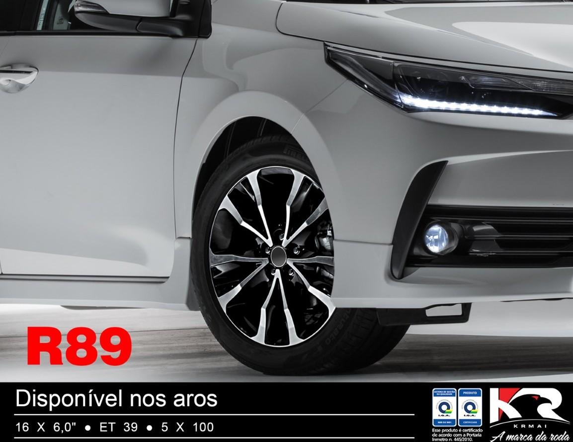 Roda Corolla NOVO 2018 XEI XRS Altis KR R89 Aro 16